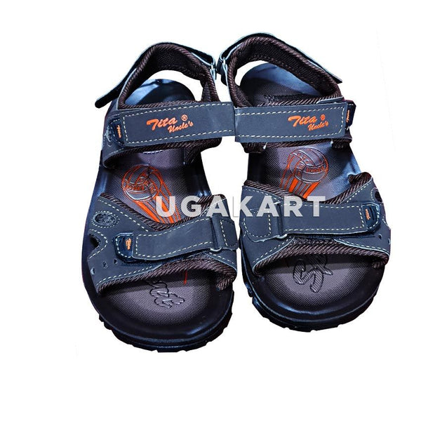 TIKA UNCLE'S dark brown Sandles 4 to 14 yrs