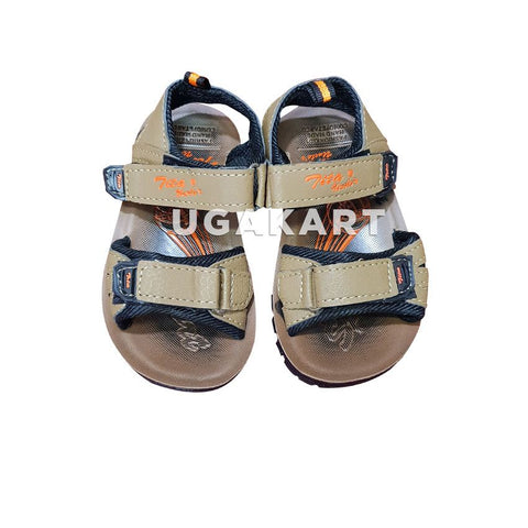 TIKA UNCLE'S light Wood Sandles 8month to 3yrs