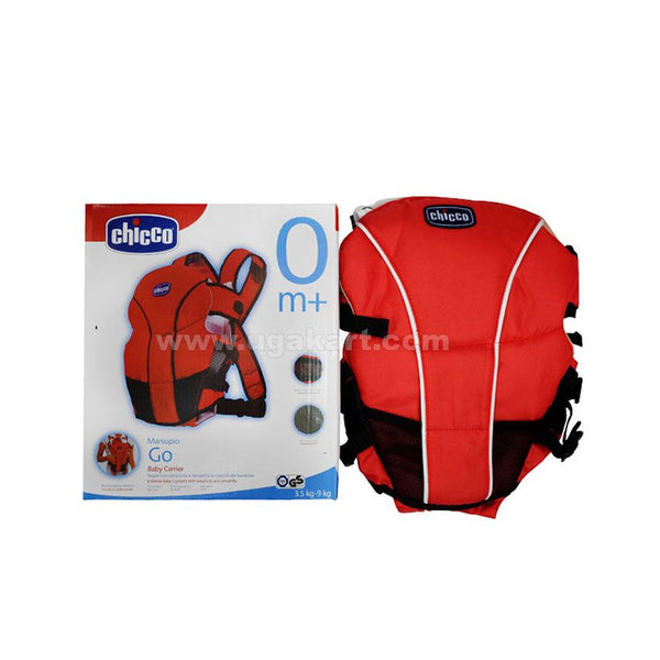 Chicco Red Baby Carrier (3.5 to 9 kg)