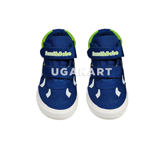 Sami & Sobo Blue And White Kids Sneakers(3 to 8 yrs)