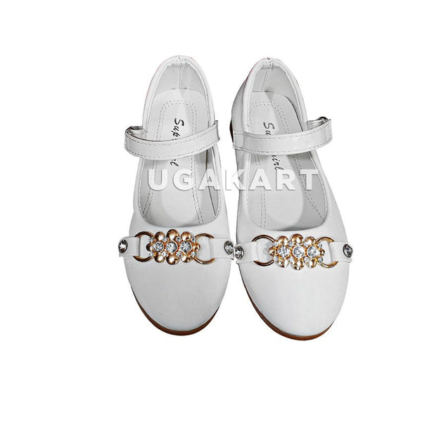 Super Girl White Shoes(6 to 8yrs)