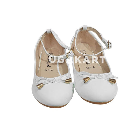 Zara White Girl's Shoes(5 to 10 yrs)