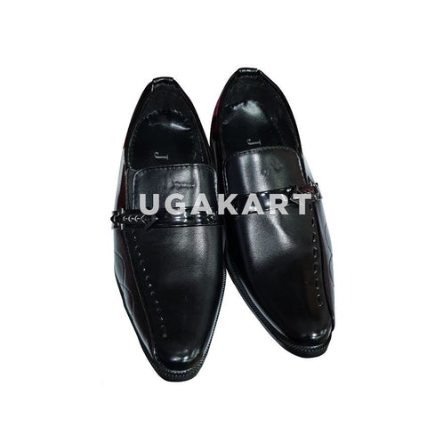 J&J Black Gentle Shoes(1 to 17 yrs)