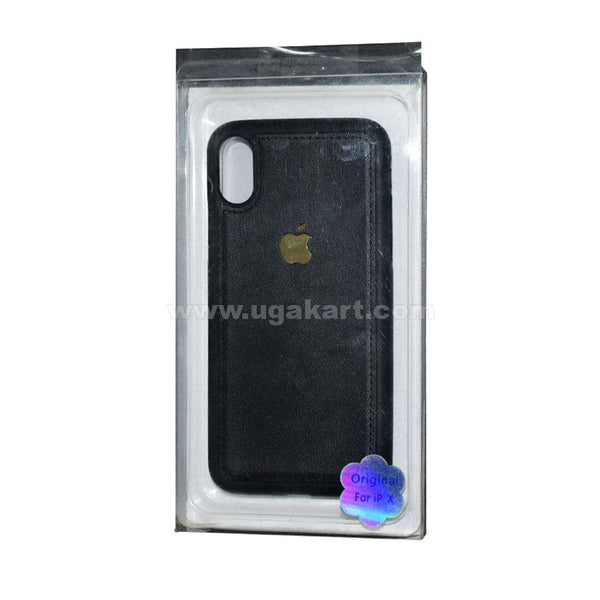 Black Phone Cover For I phone X
