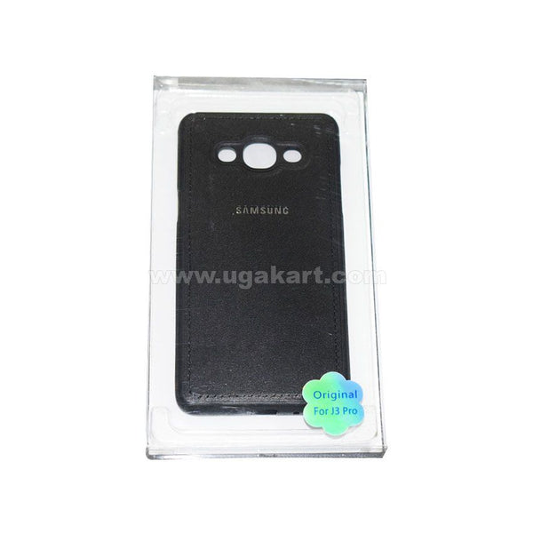SAMSUNG Black Phone Cover For J3 Pro