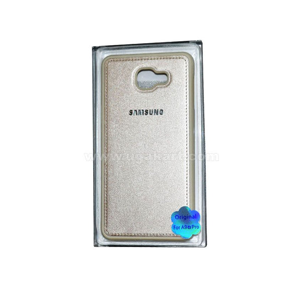 SAMSUNG Gold Phone Cover For A9 Pro