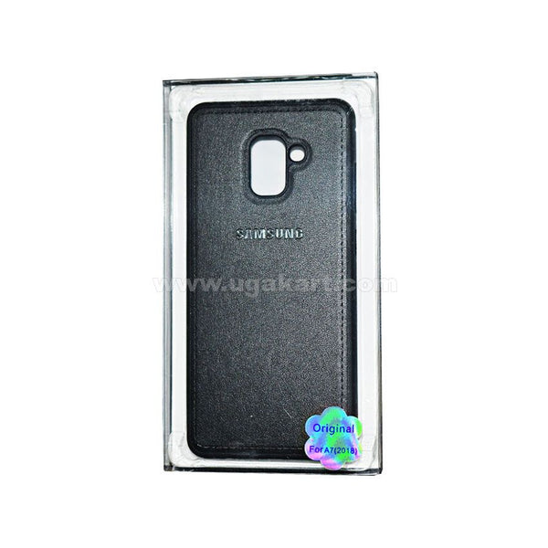 SAMSUNG Black Phone Cover For A7(2018)