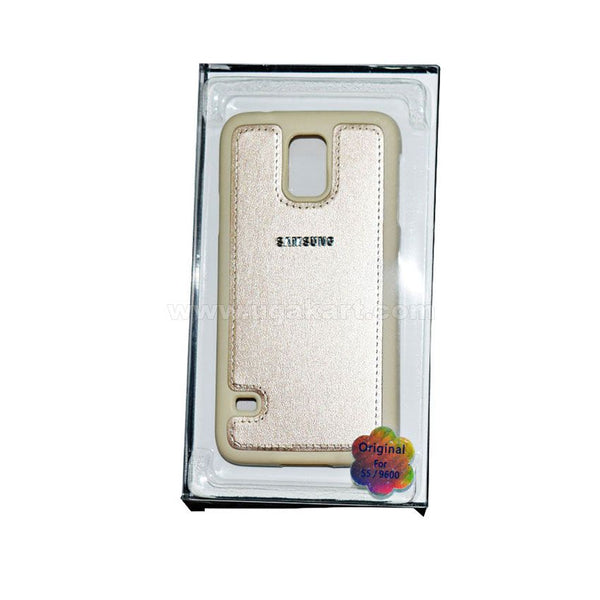 SAMSUNG Gold Phone Cover For Samsung S5/9600