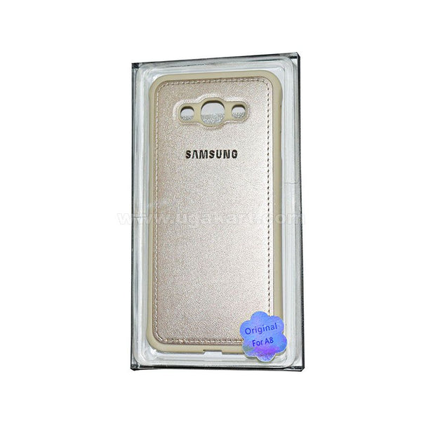 SAMSUNG Gold Phone Cover For A8