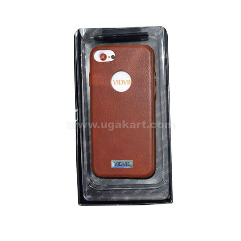 VIDVIE Smart Phone Case Brown I Phone 7 Plus