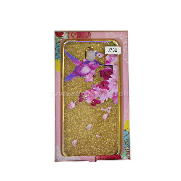 Spring Golden Phone Protective Case Samsung Galaxy J7