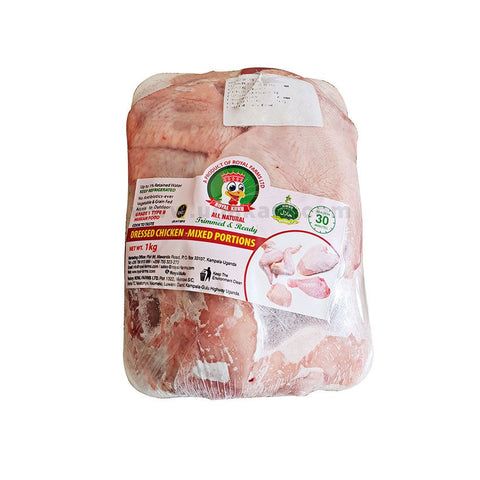 ROYAL KUKU Dressed Chicken Mixed Portion (with 9PC) 1kg