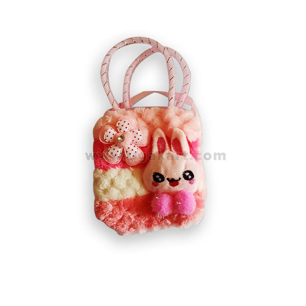 Baby Pink Girls Pouch Bag