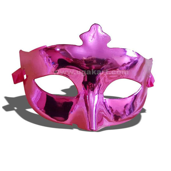 Purple Party Face Mask N Carnival Eye Mask