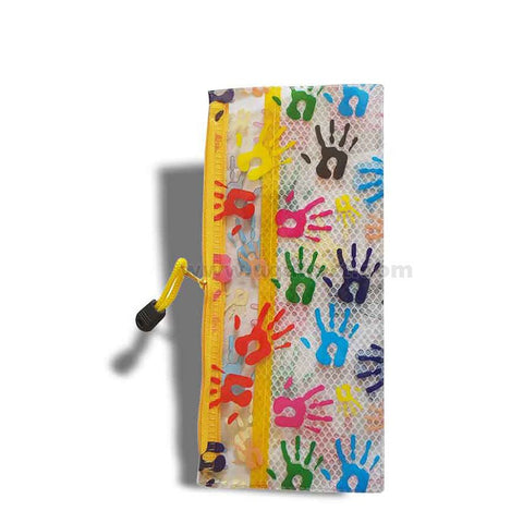Hand Print Pouch