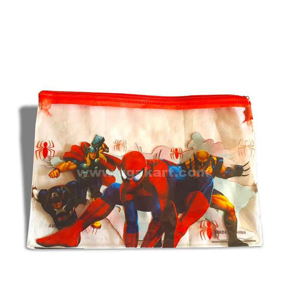 Superman Print Pouch