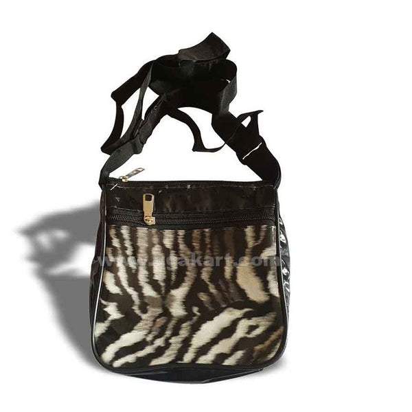 Mini Cross Bag-Animal Print