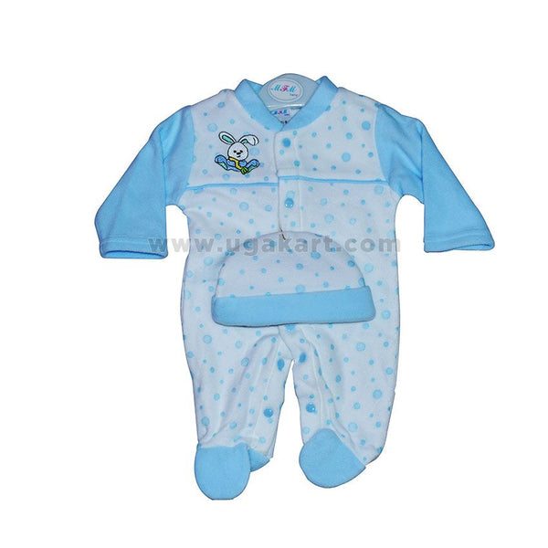 Baby's Blue Overall (0-5 months)