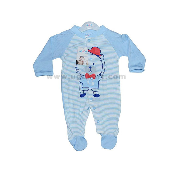 Light Blue Baby's Overall (0-6 Months)
