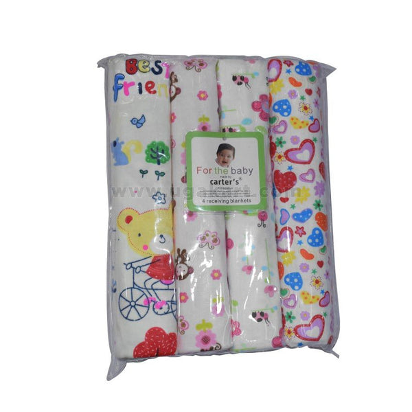 Carter's 4 Receiving Blankets (4 Pack)