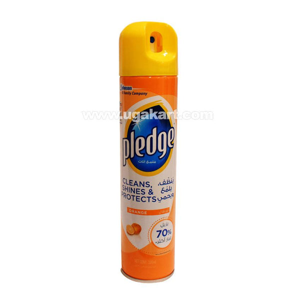 Johnson Pledge Orange Furniture Cleaner 300ml