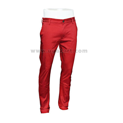 Red Men's Trouser for mens