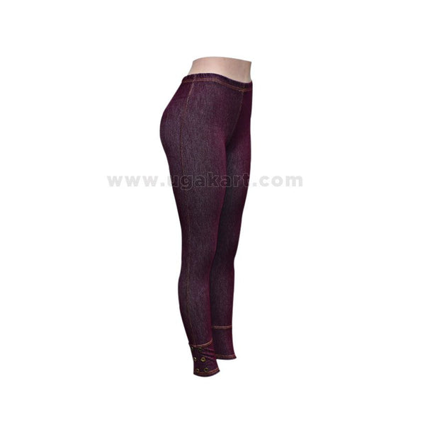 Black Ladies Jeggings - Size XL