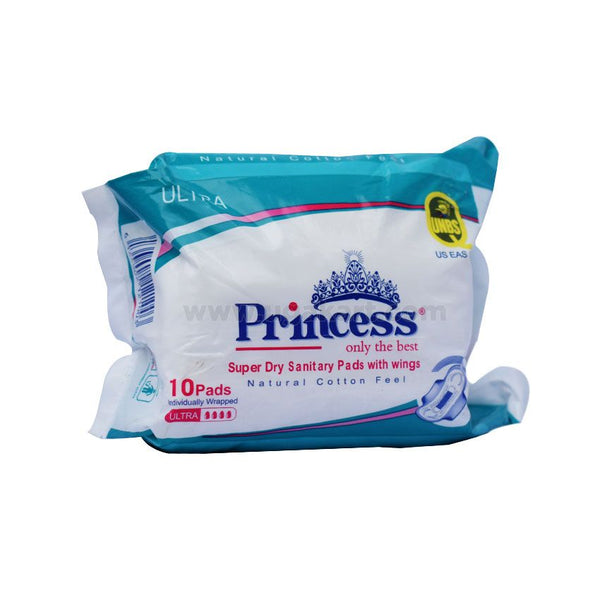 Princess Super Dry Sanitary Pads With Wings