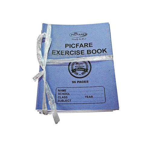 PICFARE Exercise Books (96) Pages)