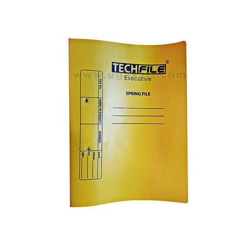 TECHFILE Executive Yellow Spring File