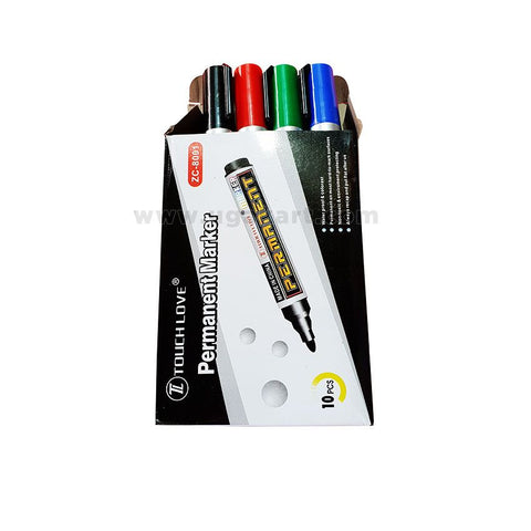 TOUCH LOVE Permanent Marker (10pcs)