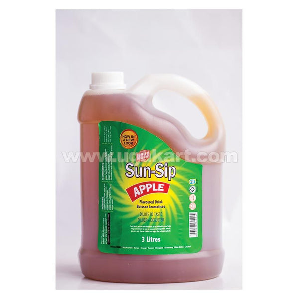 BRITANIA Sun-Sip Apple Flavoured Drink 3 litres