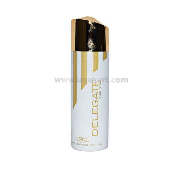 PRIVE Delegate For Female Perfumed Deodrant Spray 175ml