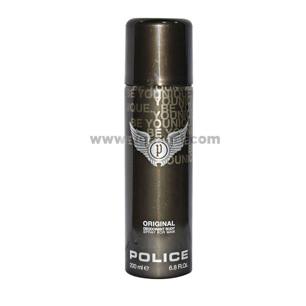 POLICE Original Deodrant Body Spray For Man 200ml