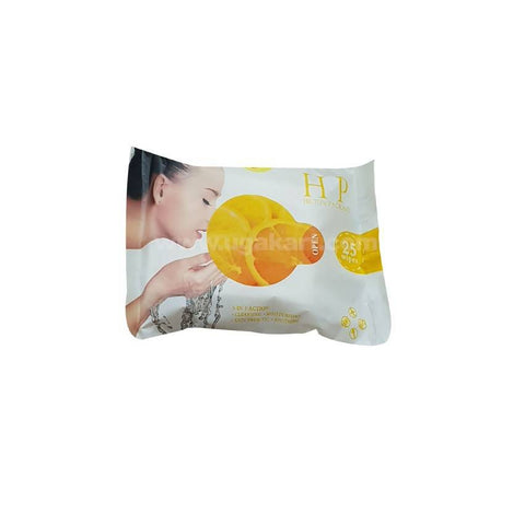 Hilton Packard Orange Face 25 Wipes_2pc