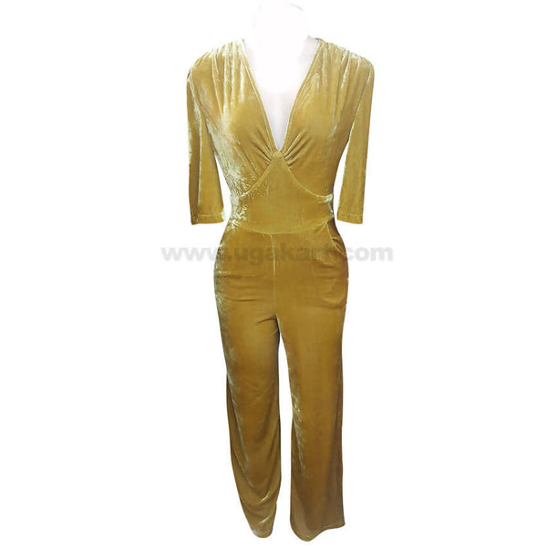 Women's Yellow Jump Suit