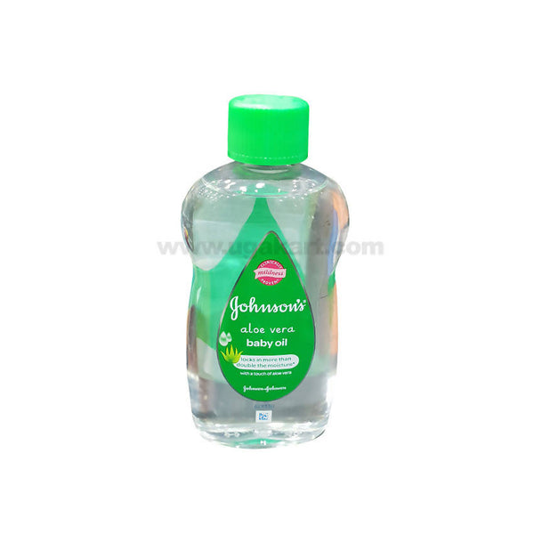 Johnsons Aloe Vera Baby Oil-300ml