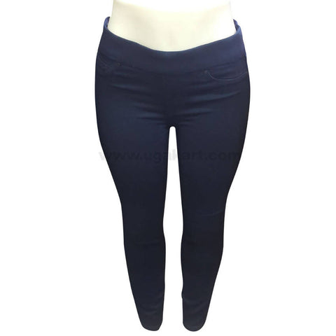 Black Women's Pant with Waist Control