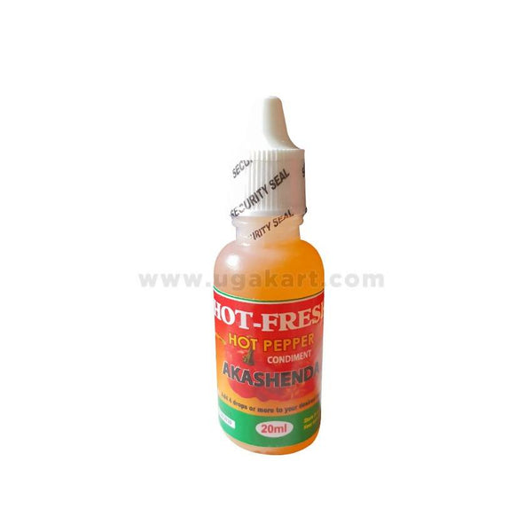 Spices Hot Pepper Condiment Chilli Oil Akashenda 20ml (Liquid)