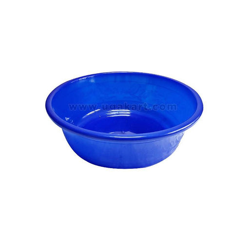Durable Plastic Wash Basin - Blue