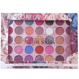Miss Rose 35 Colorful Palette High Gloss & Matte Eyeshadow