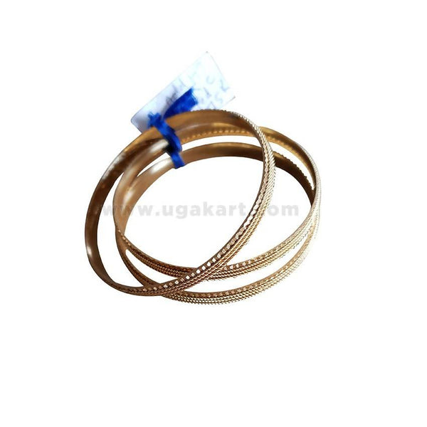 3Pcs Gold Bangles For Women