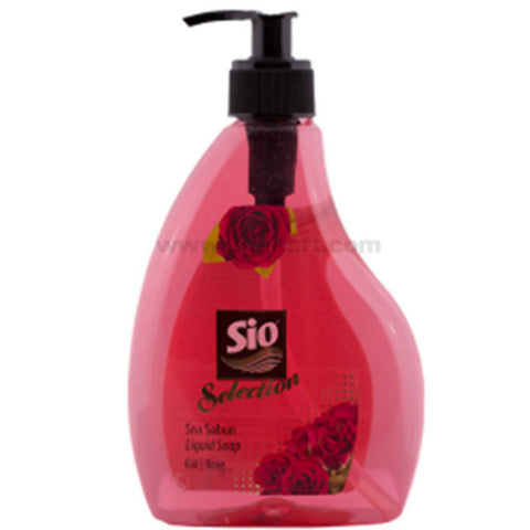 Sio Selection Liquid Soap 400 ML Rose