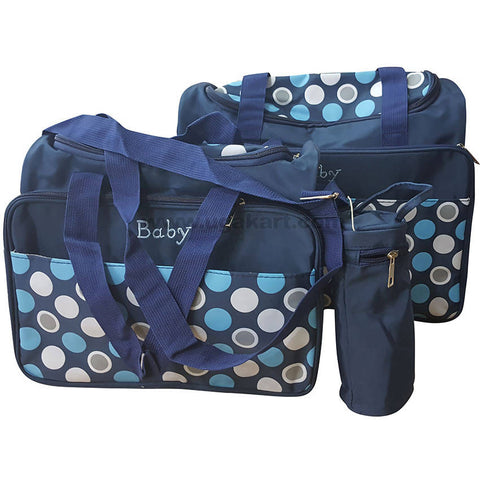 Blue Color Baby Bag Set