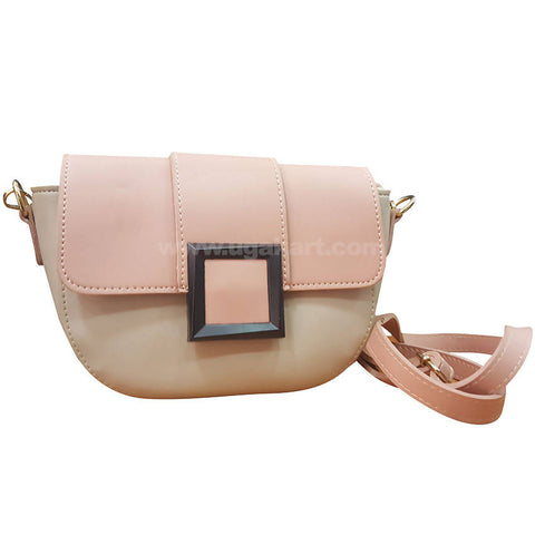 Light Pink Womens Cross Bag