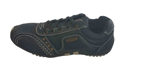 Sky View Mens Casual Lased Up Shoes - Navy Blue