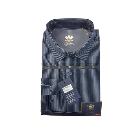 Grantoot Mens Grey Shirt With Black Lining