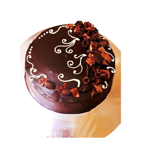 Chocolate Truffle Cake_(With Egg)