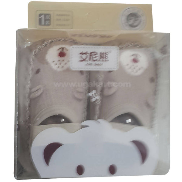 Aini Bear Baby Thickened Floor Socks/Shoes