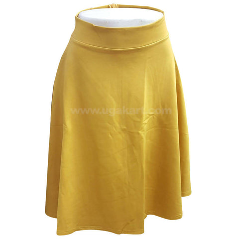 Yellow Skirt For Women's